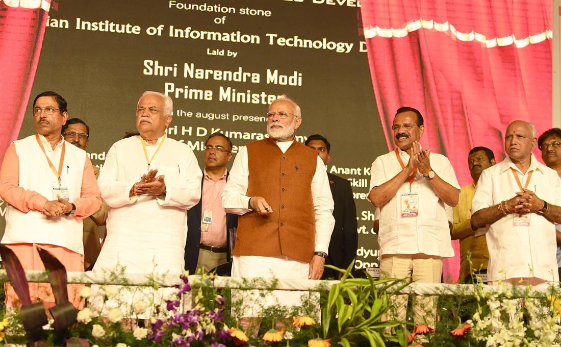 PM visits Hubli in Karnataka