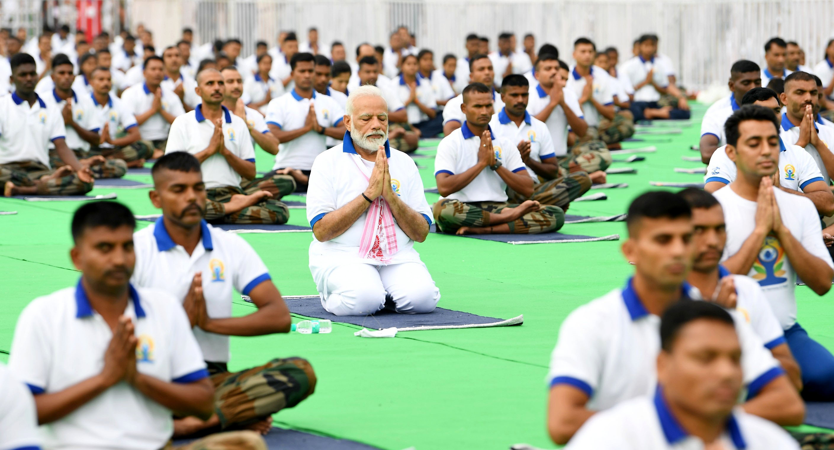 On the occasion of International Day of Yoga, PM leads Mass Yoga Demonstration at Ranchi