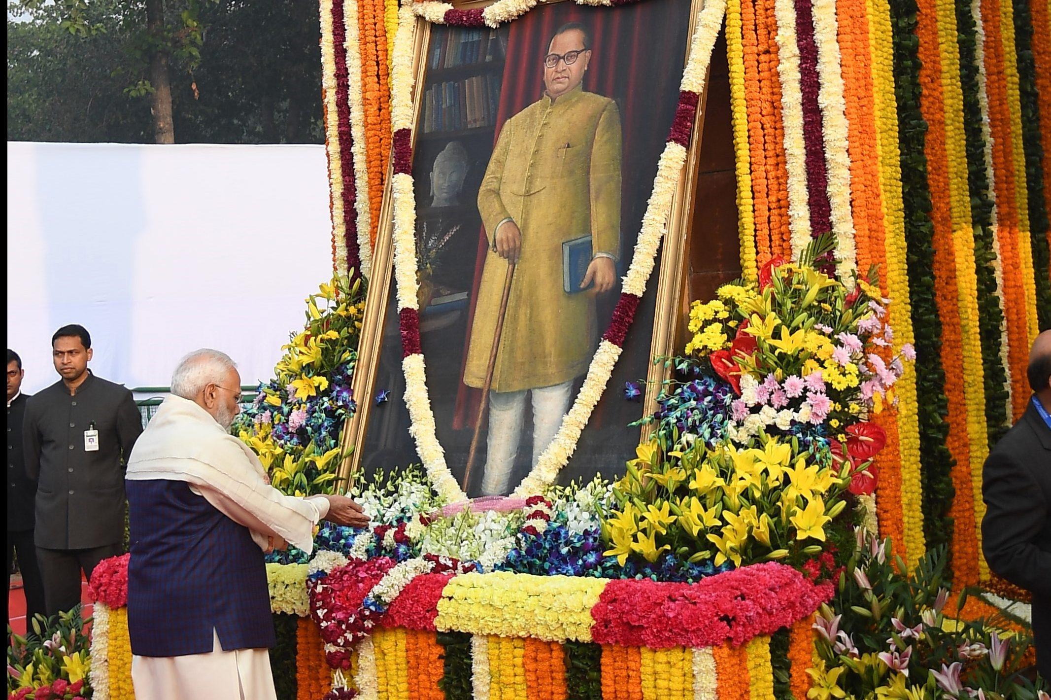 PM pays homage to Dr. Babasaheb Ambedkar on his Mahaparinirvan Diwas