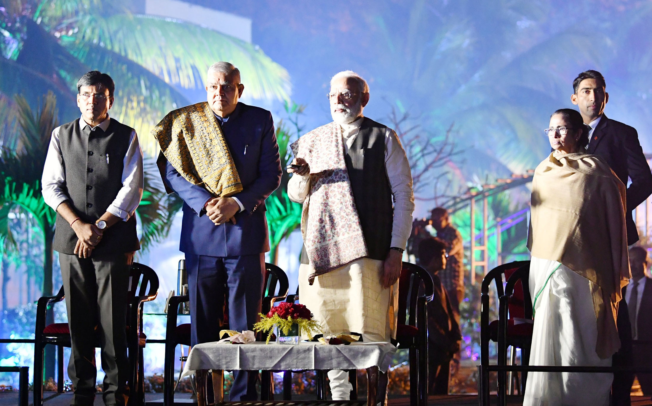 PM attends 150th anniversary celebration of Kolkata Port Trust in Kolkata; launches Interactive Light & Sound Show of Rabindra Setu