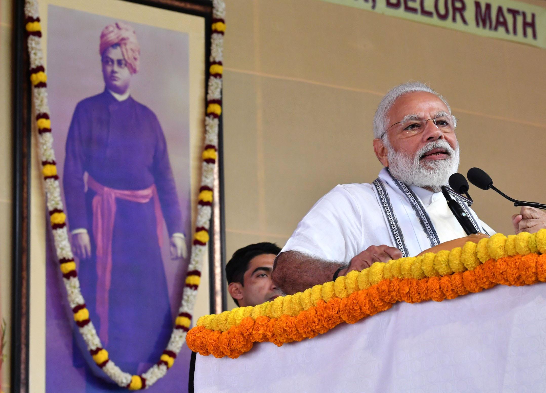 बेलुर मठ, कोलकत्ता में प्रधानमंभी का संबोधन