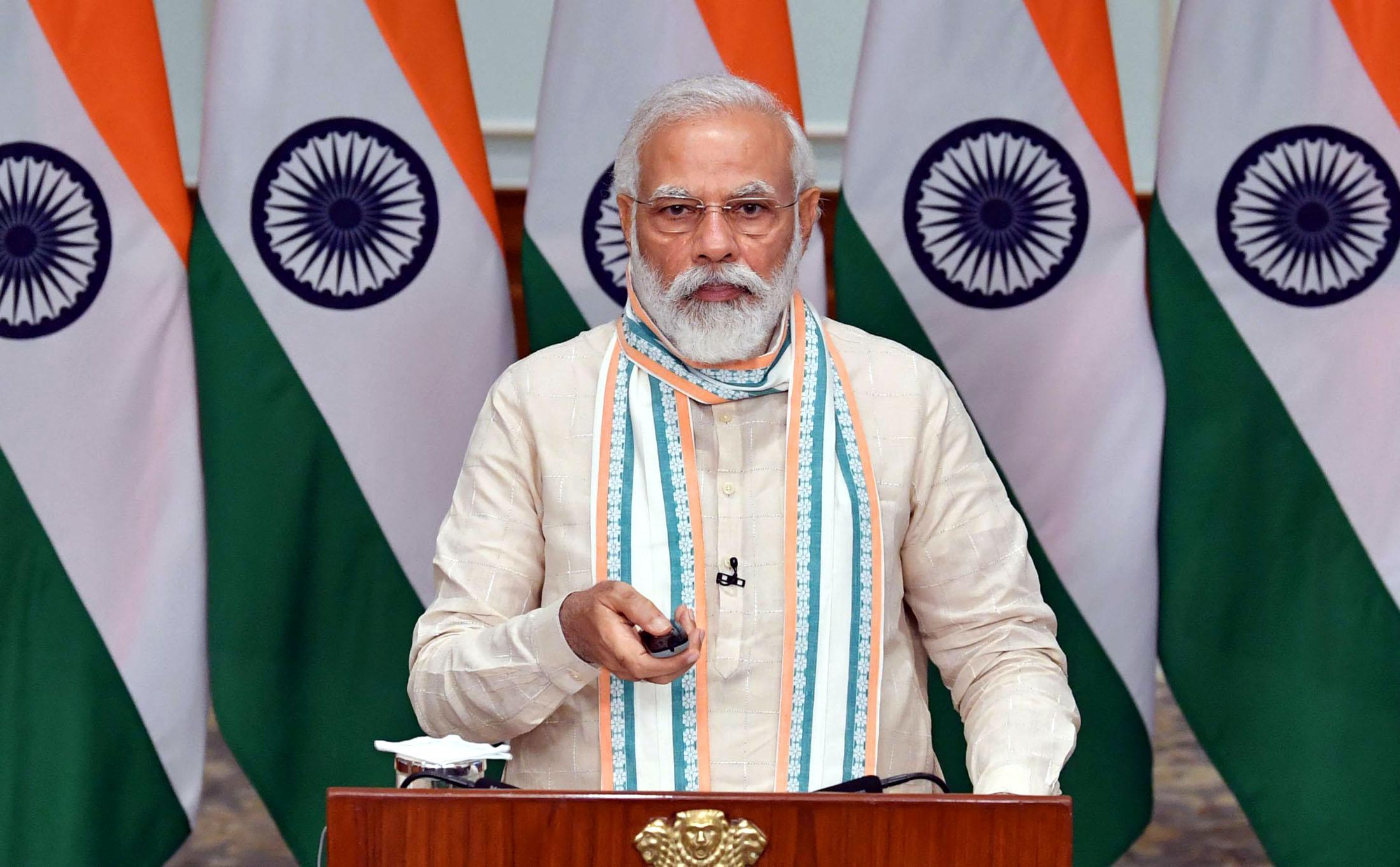 PM Modi inagurates 'Aatma Nirbhar Uttar Pradesh Rojgar Abhiyan'