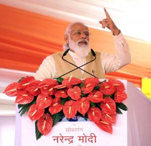 एनएच-19 के वाराणसी-प्रयागराज खंड की छह लेन चौड़ीकरण परियोजना के उद्घाटन के अवसर पर प्रधानमंत्री का संबोधन
