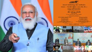 PM's address at the dedication of Rewari – Madar section of Western Dedicated Freight Corridor to the Nation