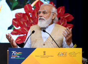 PM's address at the launch of Swachh Bharat Mission-Urban 2.0 and AMRUT 2.0