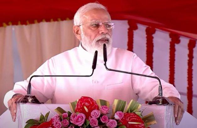 PM's address at launches of multiple development initiatives in Kushinagar, Uttar Pradesh